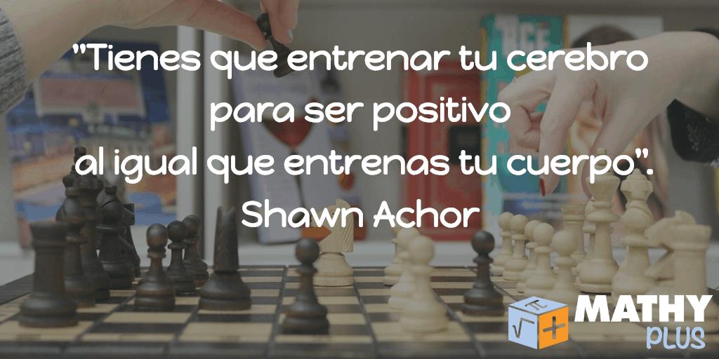 Shawn Achor es un autor estadounidense