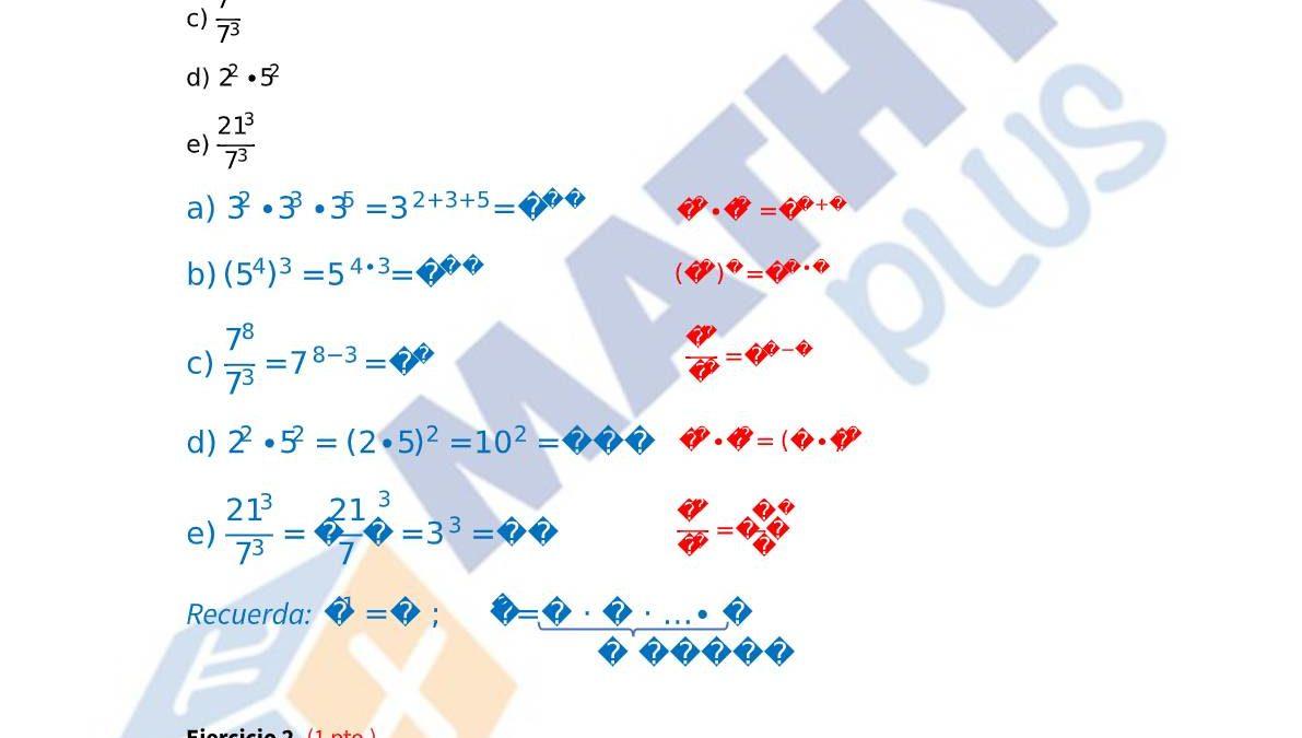 Examen resuelto potencias y raíces-pdf